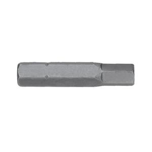Hex 7/32in x 32mm Tamper Proof Insert Bit