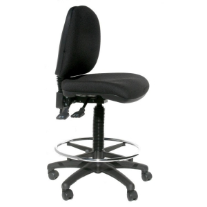 ESD Office Drafting Chair Economy tall with foot ring