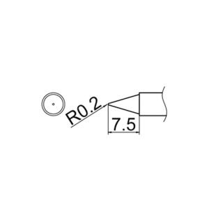 Hakko T12-B Soldering Tip Shape-B for FM-2025. FM-2027. FM-2028. FX-9501