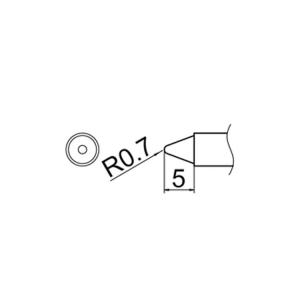 Hakko T12-B3 Soldering Tip Shape-0.7B for FM-2025. FM-2027. FM-2028. FX-9501