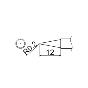 Hakko T12-BL Soldering Tip Shape-Bl for FM-2025. FM-2027. FM-2028. FX-9501