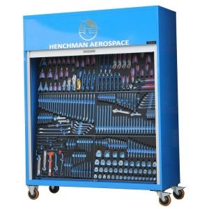 Henchman Flightline Toolboard with tools