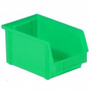Henchman Dissipative ESD Bin Green 235 x 145 x 125mm - Click for more info