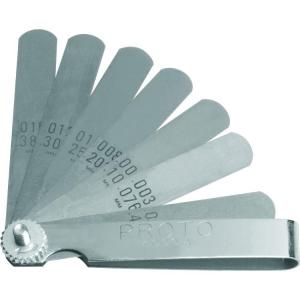 Proto Set Feeler Gauge 9 Blade, Standard