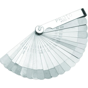 Proto Set Feeler Gauge 22 Blade Step Cut