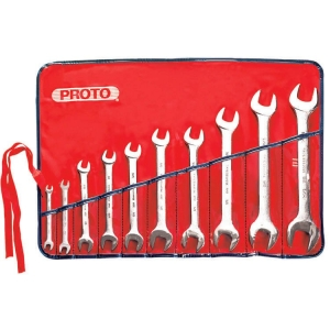 Proto Set Wrench Open End 10 Piece