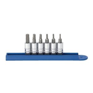 Gearwrench Inhex Socket Set 1/4 Drive - Metric