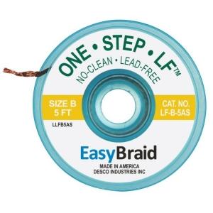 Easy Braid, Lead Free Solderwick Size B