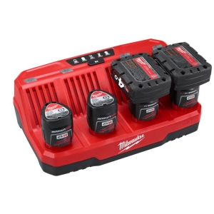 Milwaukee M12 4 Bay Charger