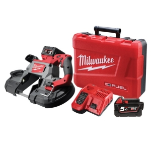 Milwaukee M18 FUEL 125mm DeepCut BandSaw, 5.0Ah RED LITHIUM Kit