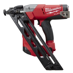 Milwaukee M18 FUEL 15GA Angled Nailer, 34° degree, 32-63mm, No GAS required, Ca