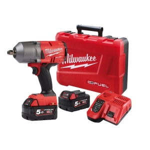 Milwaukee M18 FUEL Gen II 1/2 Inch High Torque Impact Wrench Friction Ring- 5Ah