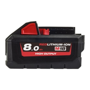 Milwaukee M18 REDLITHIUM High Output 8.0Ah Battery Pack- Gift Box Packaging