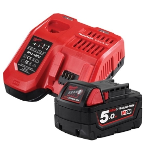 Milwaukee M18 REDLITHIUM-ION 5.0Ah Starter Pack (contained M12-18FC, M18B5 in Re