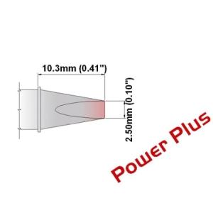 Chisel Tip 30 Deg 2.5mm (0.10in) Power Plus