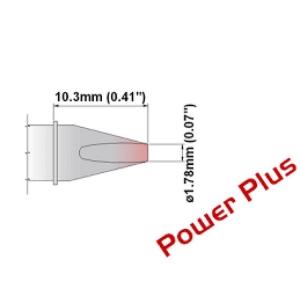 Chisel Tip 30 Deg 1.78mm (0.07 in) Power Plus