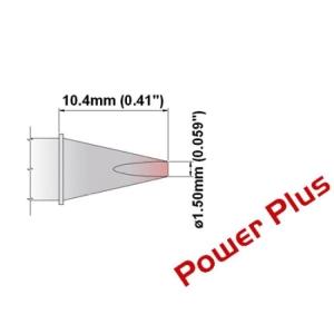 Chisel Tip 30 Deg 1.5mm (0.06in) Power Plus