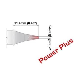 Chisel Tip 30 Deg 1.0mm (0.04in) Power Plus