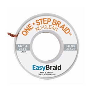 Easy Braid, Solder Wick 3 (2.2mm X 25Ft)
