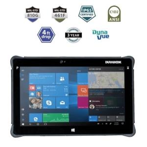 Durabook R11L Rugged Tablet Light IP65 4GB Mil-Spec 810G and 461F ANSI C1D2 4ft