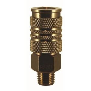 Coupler To Male Thread 3/8 Bsp Male Int