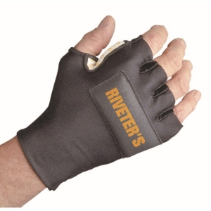Riveters Glove With Wrist Support,Rh Xxl