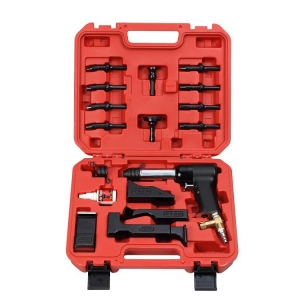 Rivet Gun Kit 17pc 3X W/ Bucking Bars