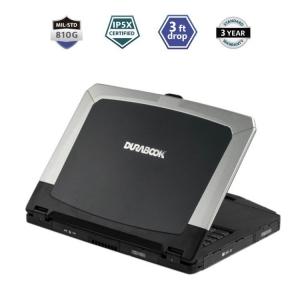 Durabook S15AB Rugged Laptop Thin IP5X 8GB Mil-Spec 810G 3ft Drop 15.6 inch Port