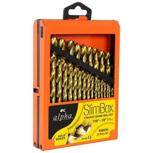 29pce Imperial Alpha Slimbox Drill Set 1/16-1/2in