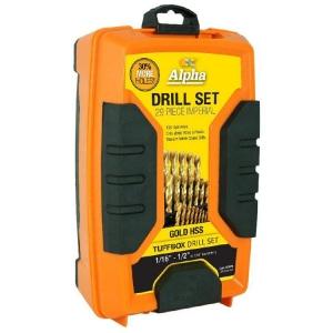 29 Piece - Imperial Alpha Gold Series Tuffbox Drill Set