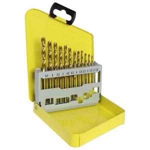 13pc Metric Alpha Gold Series Drill Set 1.5-6.5mm