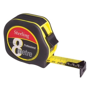 8m/27ft Professional Magnetic Hook Tape Measure