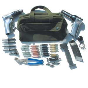 Kit With 3X Rivet Gun