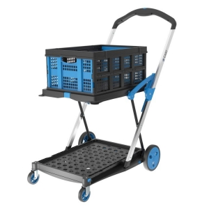 X-Cart Folding Trolley with Folding Basket