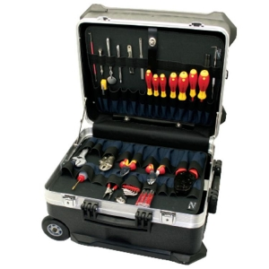 Turtle Toolcase With Pouches - Click for more info