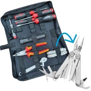 Home DIY Basics Kit including Leatherman Wave