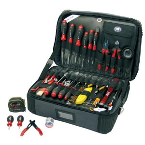 Electronics Toolkit In Zipper Brief Case