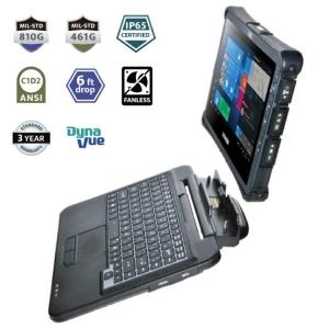 Durabook Bundle U11I with detacheable Keyboard IP65 Mil-Spec 810H - Click for more info