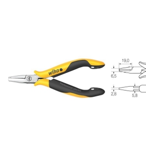 Wiha Electronic End Cutting Nipper, Extra Nar